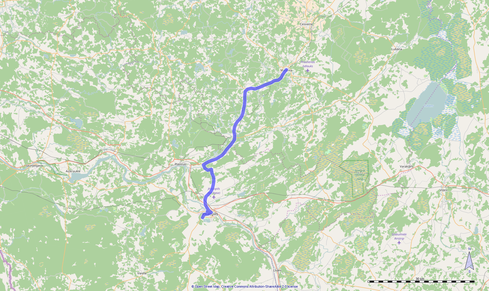 Route day 13