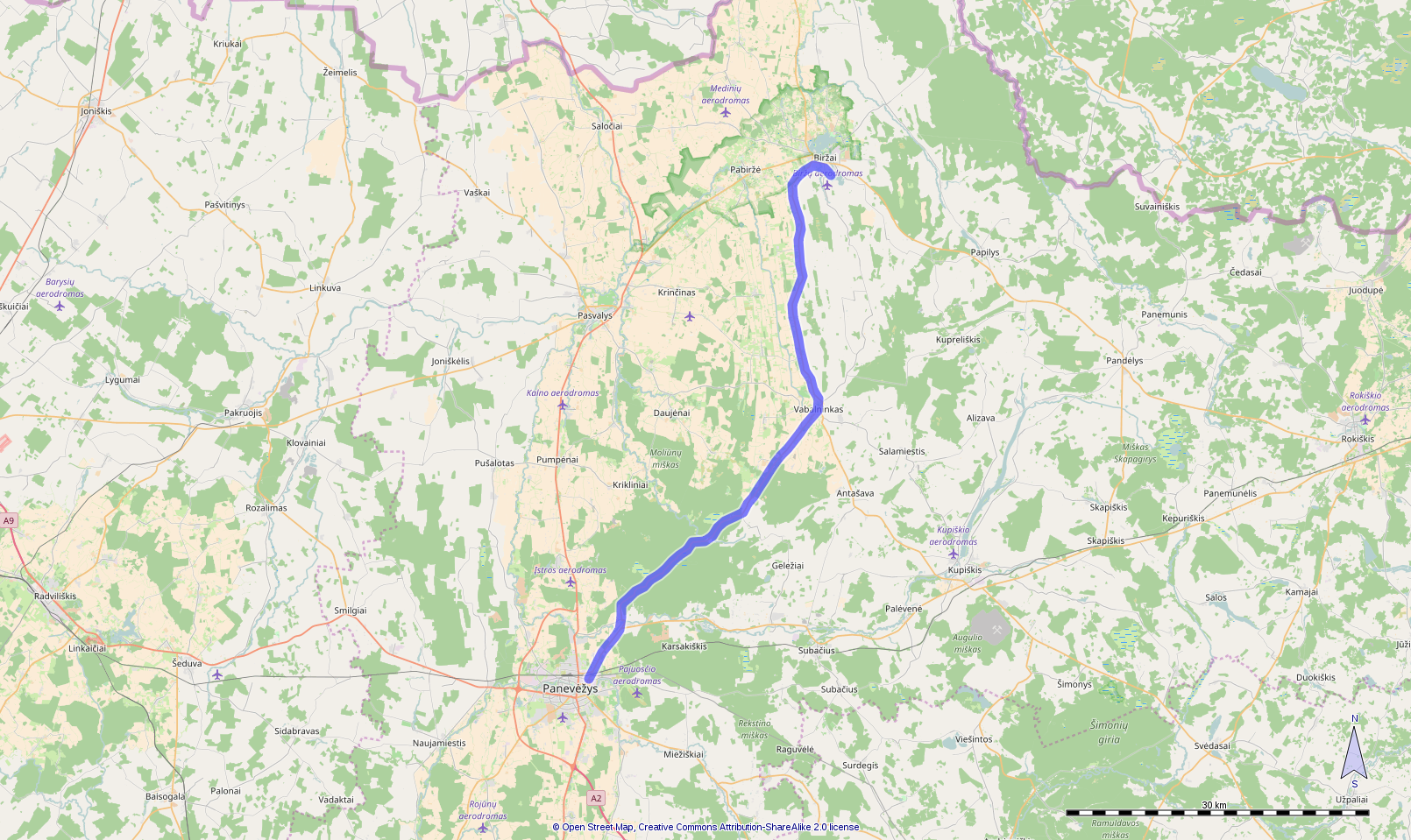 Route day 16