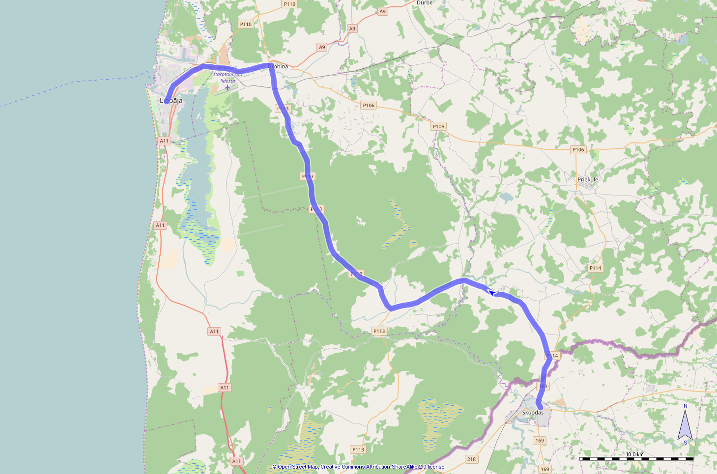 Route day 19
