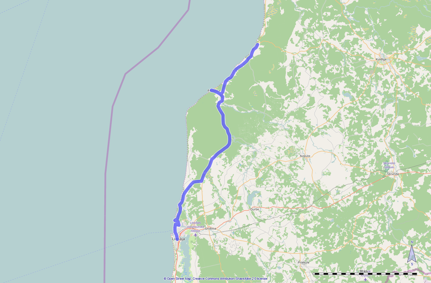 Route day 21