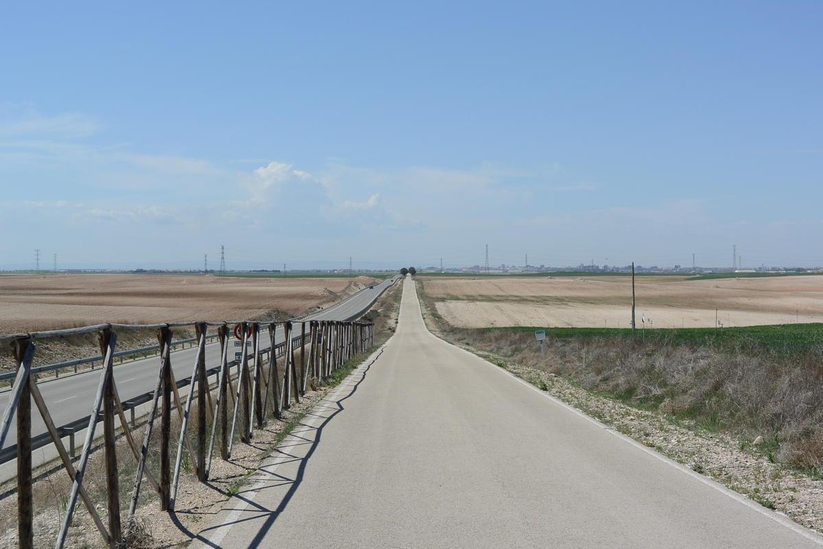 Magic bike road