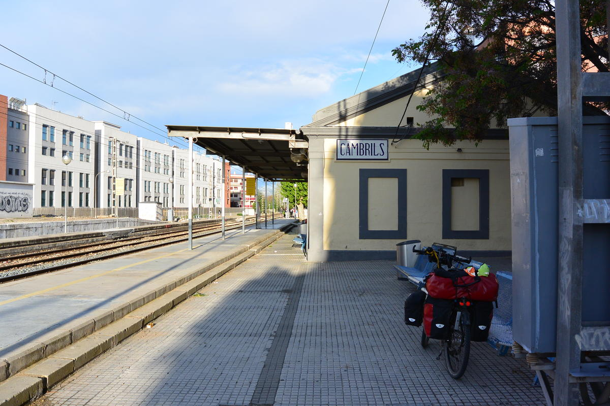 Main station in Cambrils