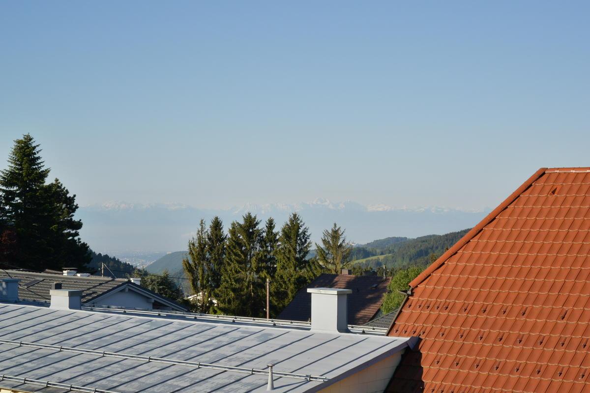 Distant alps