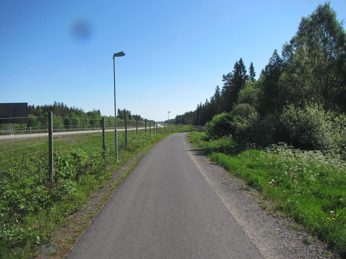 Nice bikeroad