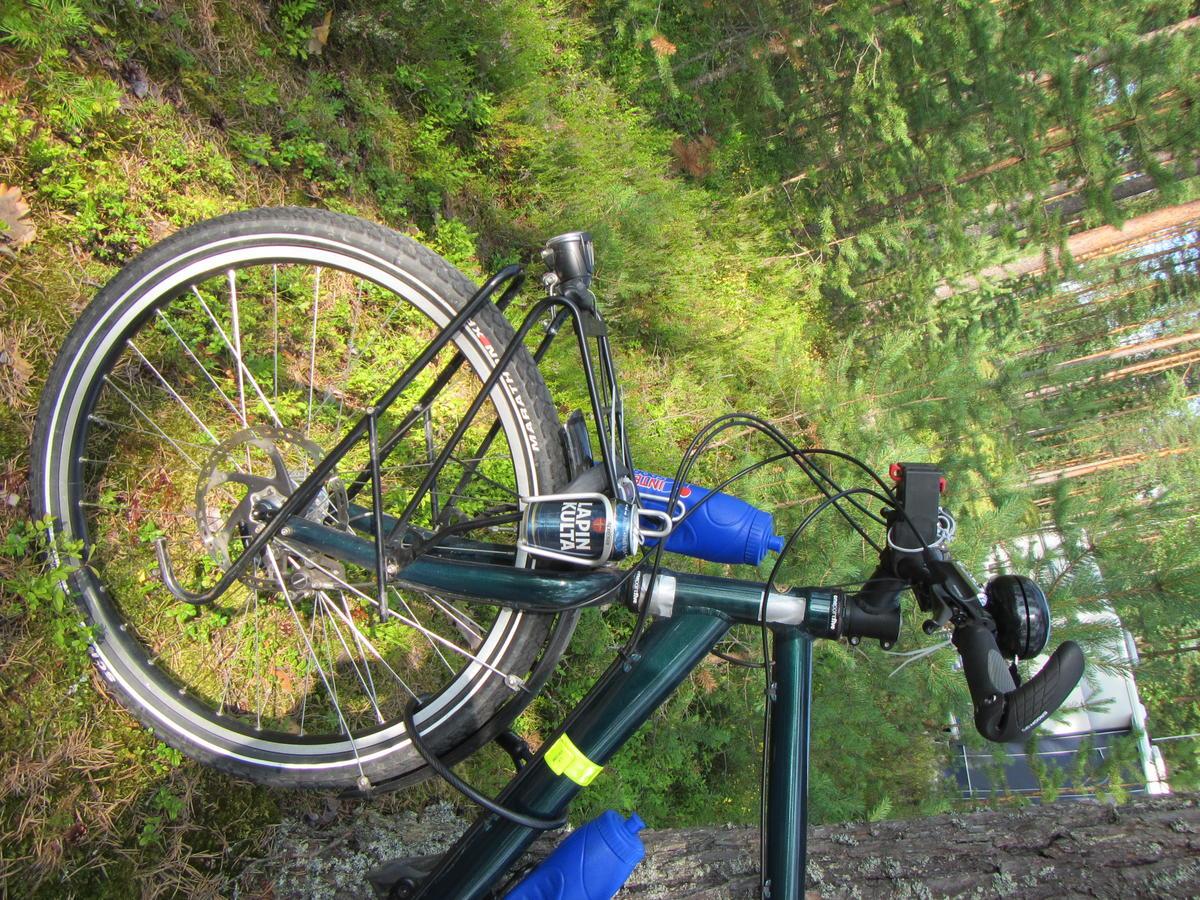 Alternate use for bike