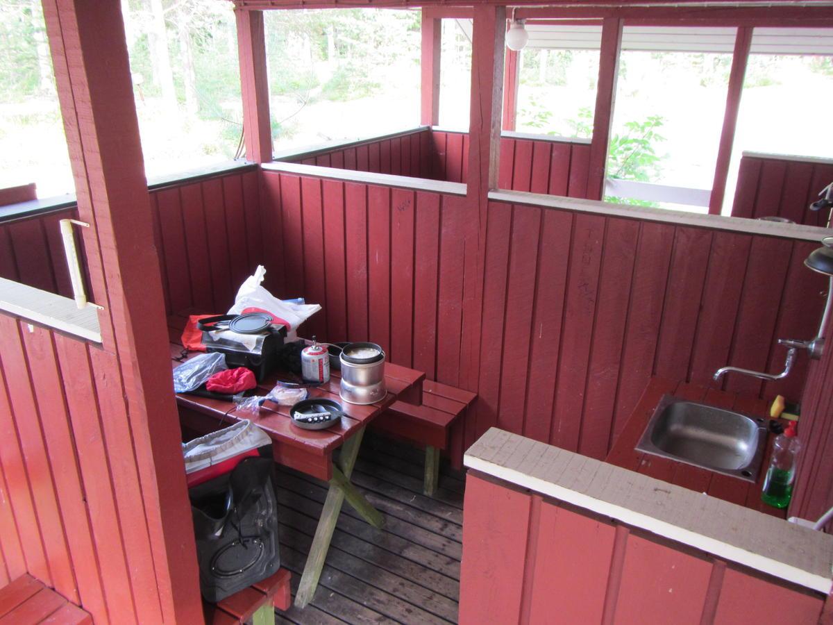 Kitchen outdoors