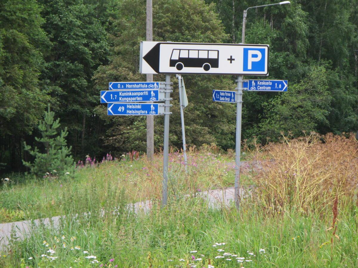 49 km to Helsingfors