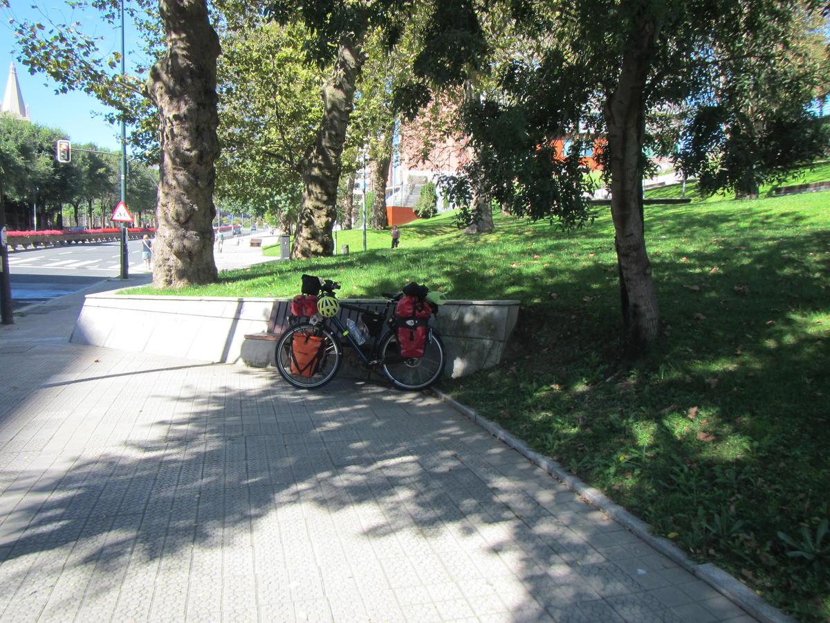 Park in Bilbao