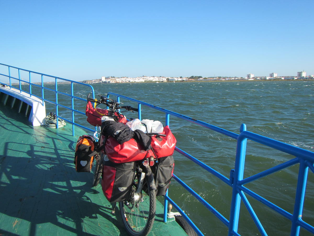 The ferry to Spain