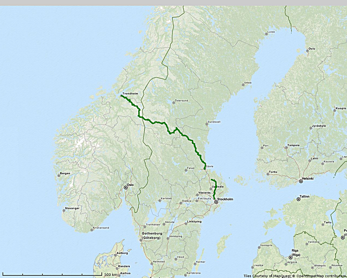 Route day 01