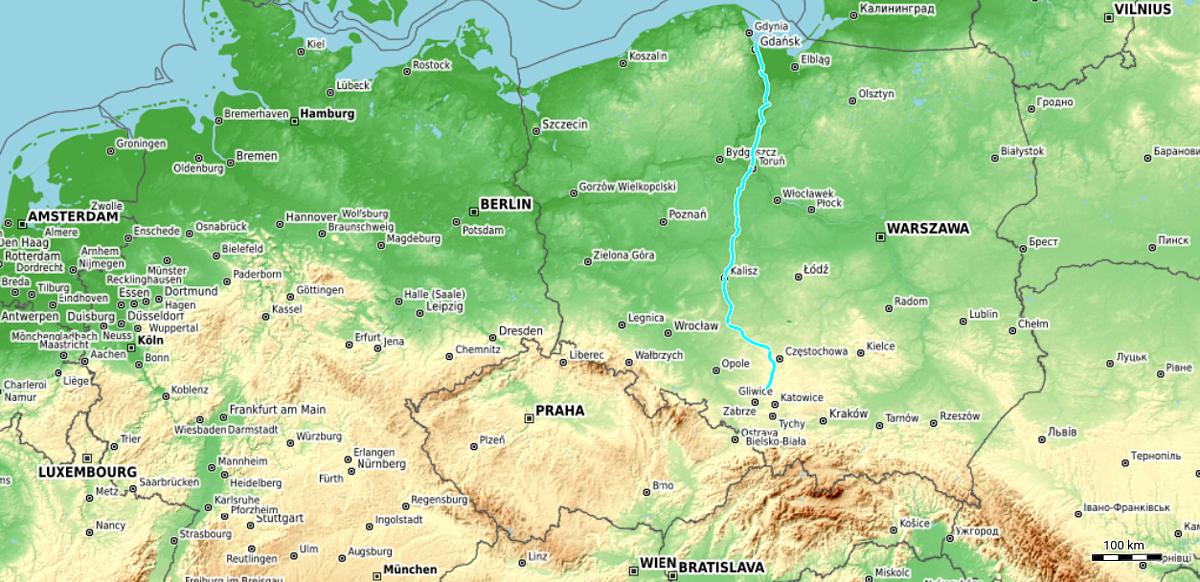 Route so far